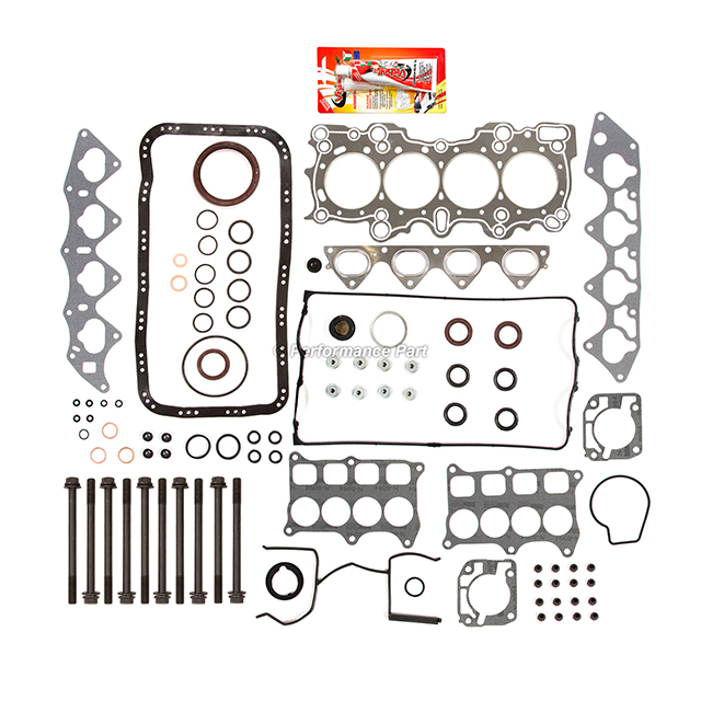 Graphite Full Gasket Set Head Bolts For Acura Integra GS-R