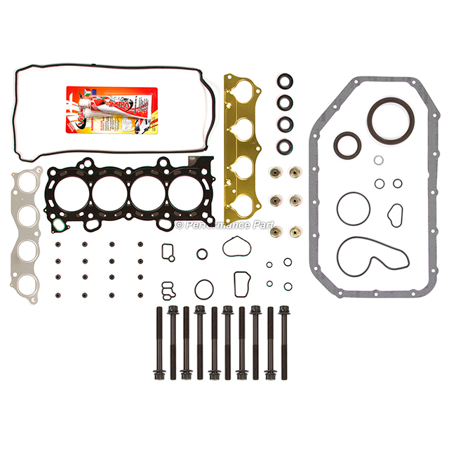 Full Gasket Set Head Bolts For 02-06 Acura RSX Type-S