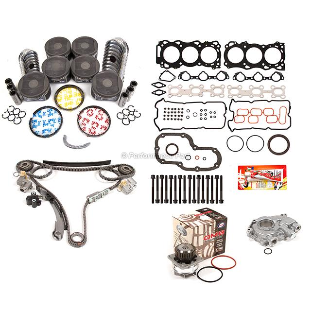 Re-ring Kit for Nissan Frontier Pathfinder Xterra VQ40DE 05-0 DOHC 24V 4.0L