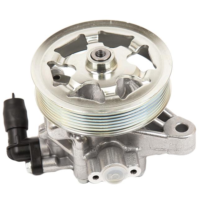 Power Steering Pump Replacement for 2008 2009 2010 2011 2012 Honda Accord with 2.4L Engine OE Replace # 21-5495 Power Steering Pump
