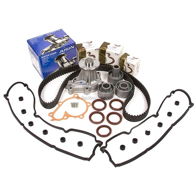 Timing Belt Kit Water Pump Valve Cover Fit 90-96 Nissan 300ZX 3.0L DOHC VG30DE