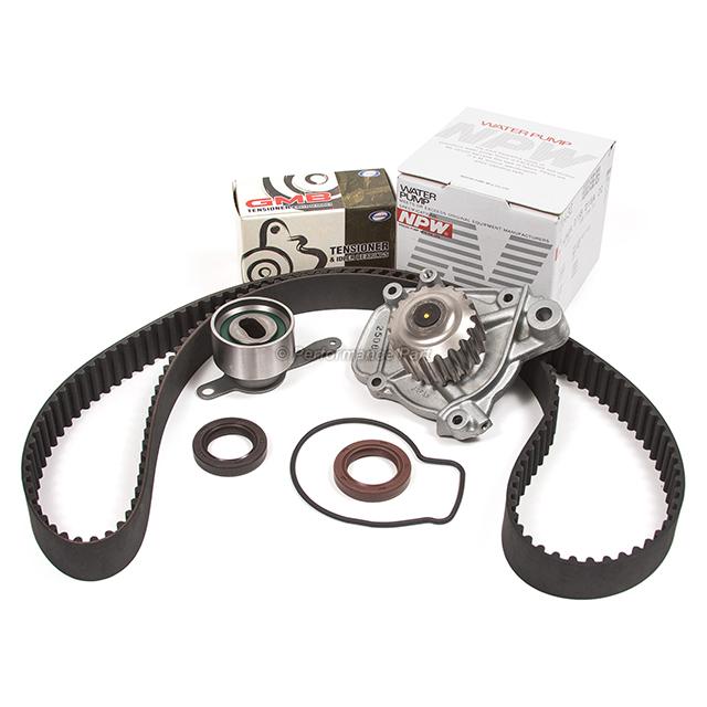 92-95 Honda Civic 1.5L SOHC D15Z1 Timing Belt Water Pump Kit Valve Cover Gasket