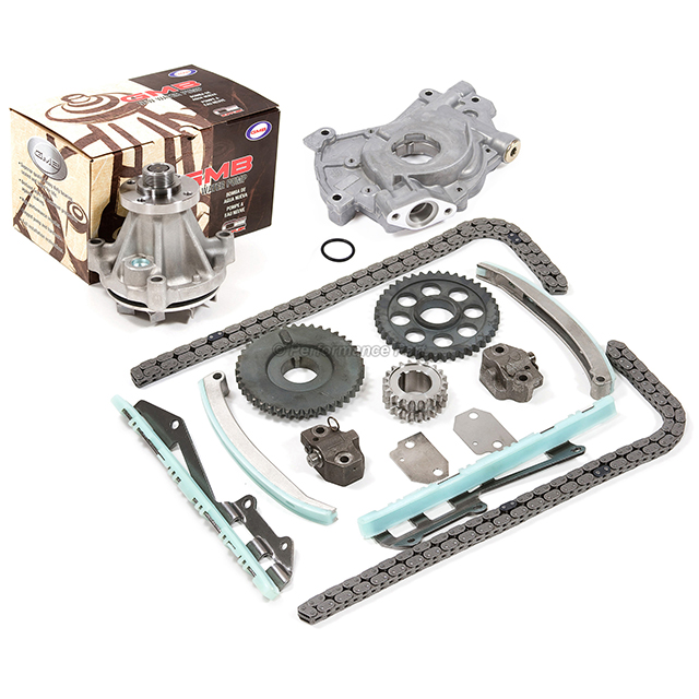 Timing Chain Kit for 97-02 Ford F150 Expedition E150 4.6L WINDSOR Water Oil Pump