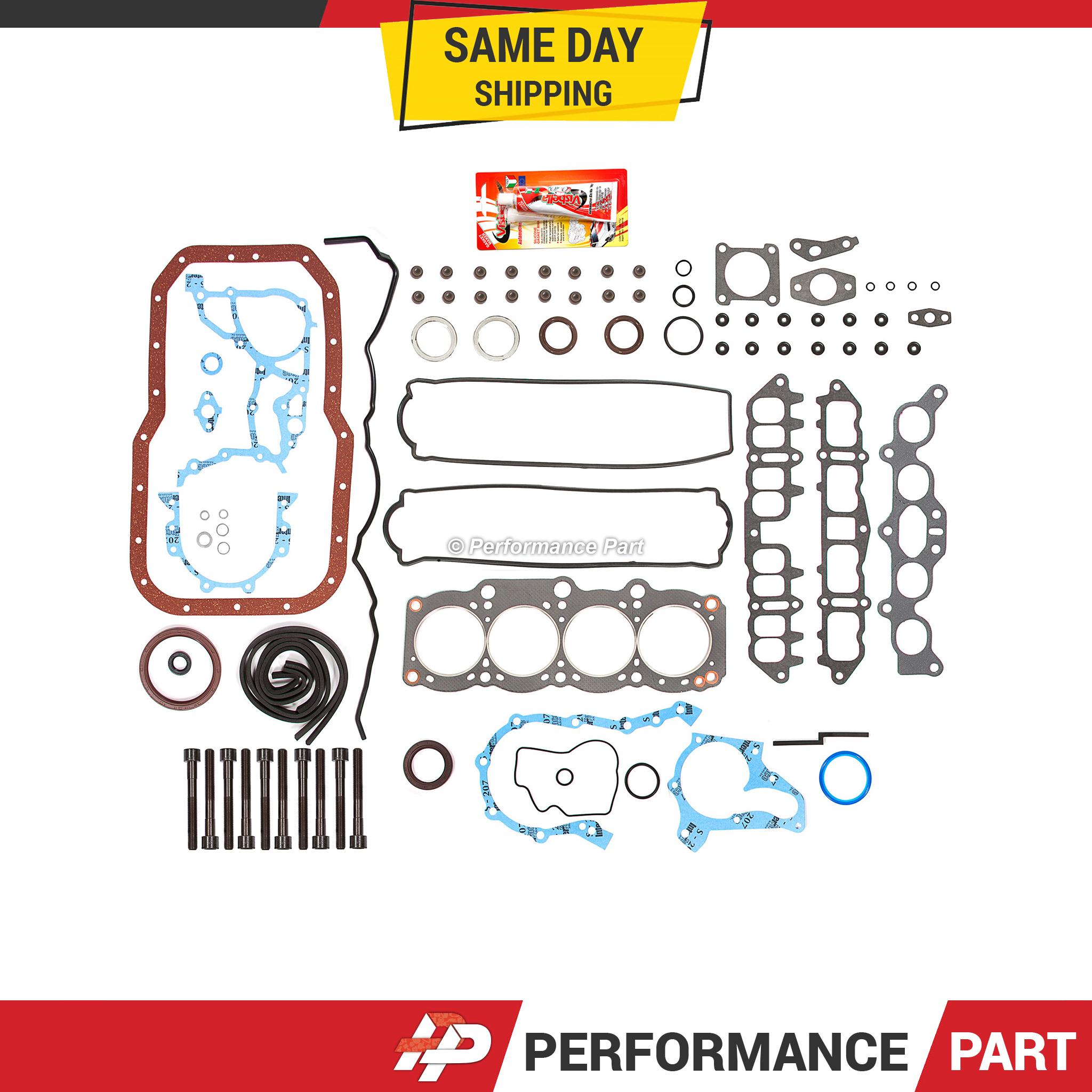 Head Gasket Bolts Set Fit 86-89 Toyota Celica GTS 2.0 DOHC 16V 3SGELC