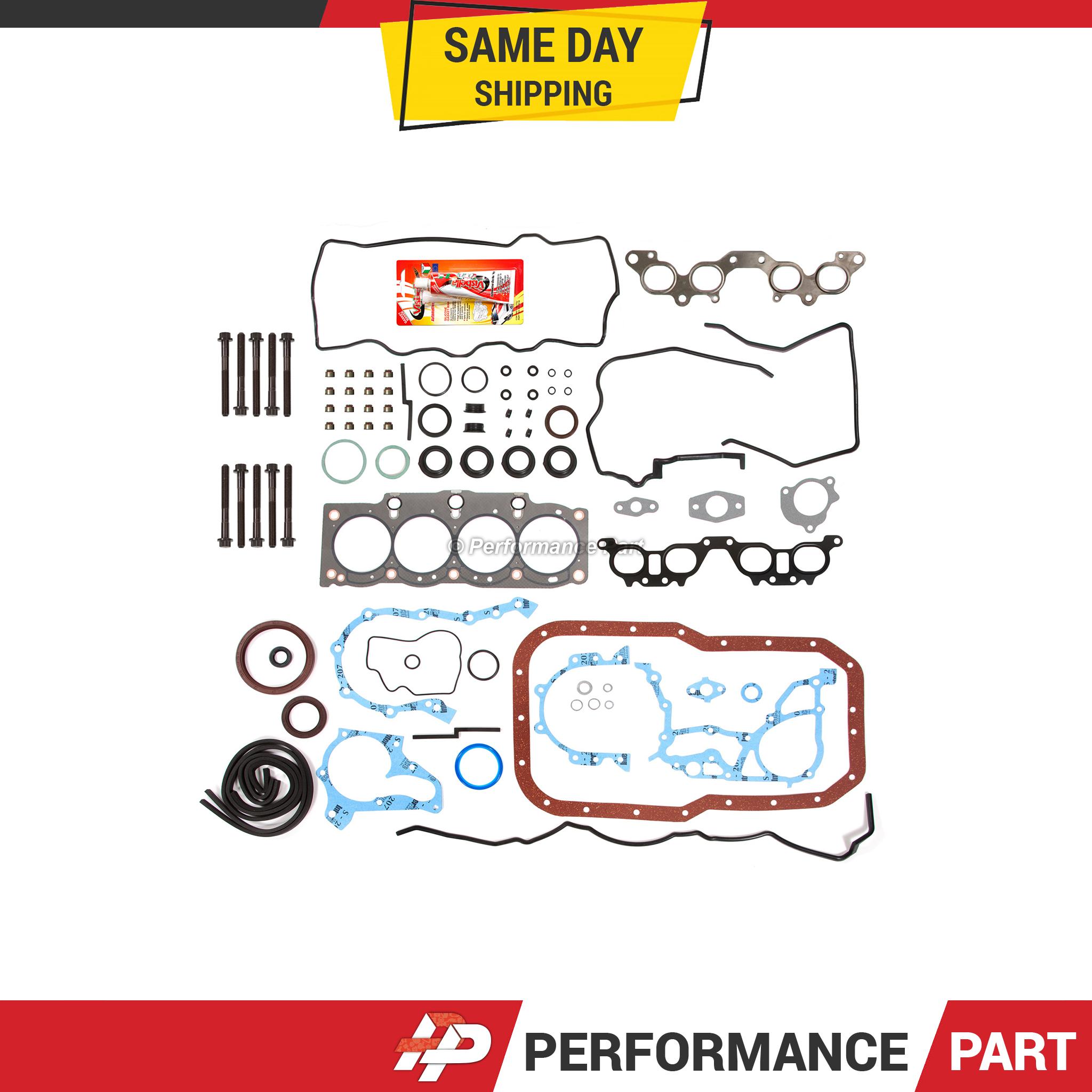 Details about Full Gasket Set Head Bolts for 96-00 Toyota RAV4 2 0L DOHC  3SFE 16 Valve